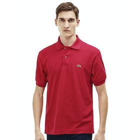 Lacoste L1212 Classic Premium Herren Polo-Shirt - Red