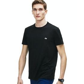 Lacoste Crew Neck Herren Kurzarm-T-Shirt - Black