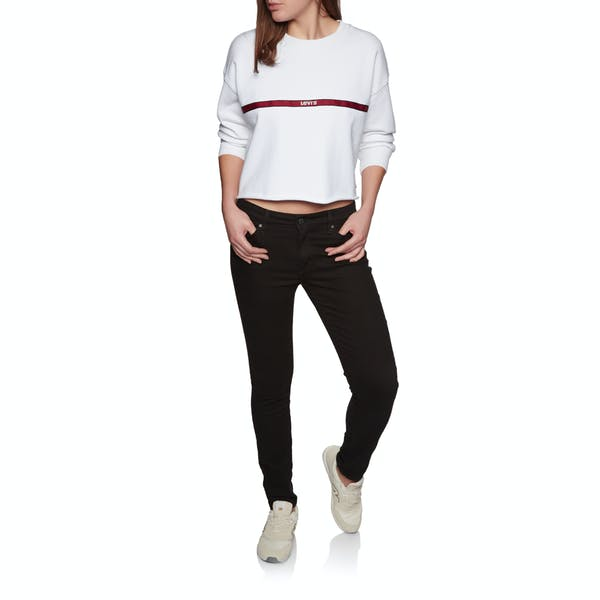Levis Graphic Raw Cut Crew Women's Sweater