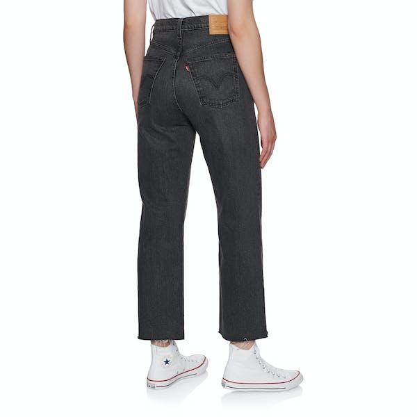 Levis Ribcage Dame Jeans