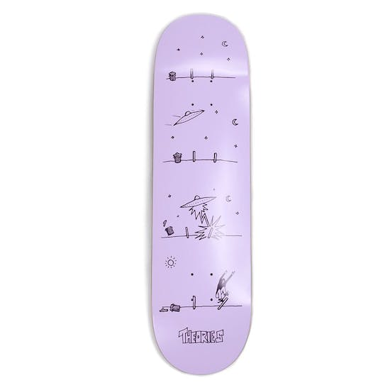 Theories Of Atlantis How They Got Here Skateboard Deck