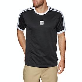 Adidas Club Jersey Short Sleeve T-Shirt - Black White