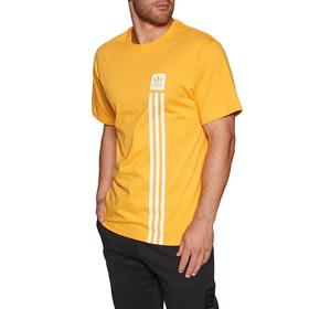 Camiseta de manga corta Adidas Bb Pillar - Active Gold White