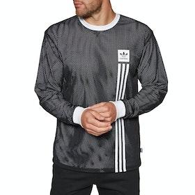 Camiseta de manga larga Adidas Rev Mesh - Black White