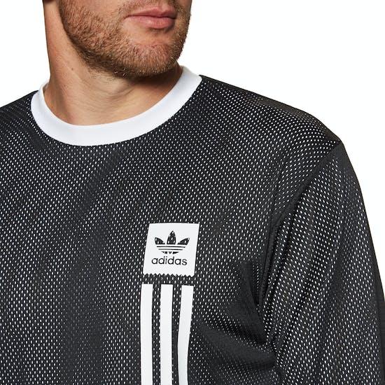 Adidas Rev Mesh Long Sleeve T-Shirt