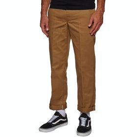 Dickies 873 Slim Straight Work Chino Pant - Brown Duck