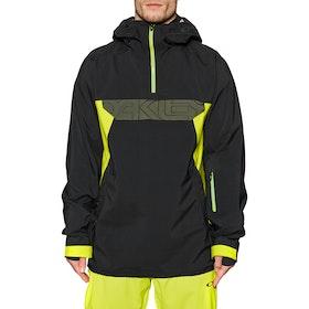 Oakley Black Forest Shell 3l 15k Snow Jacket - Blackout