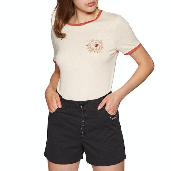 Rip Curl Island Time Ringer Short Sleeve T-Shirt