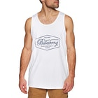 Billabong Trademark Mens Tank Vest