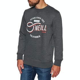 Sweat O'Neill Mugu Cali Crew - Dark Grey Melee