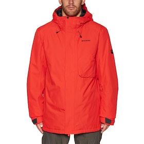 Bonfire Strata Insulated , Snowboardjacka - Red