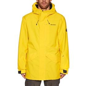 Bonfire Vector Shell Snow Jacket - Yellow