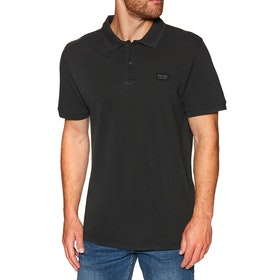 Rip Curl Faded Polo Shirt - Black