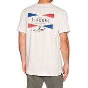 T-Shirt de Manga Curta Rip Curl On Da Gun
