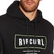 Pullover Rip Curl Stretched Out Fleece