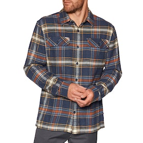 Chemise Patagonia Fjord Flannel - Defender: New Navy