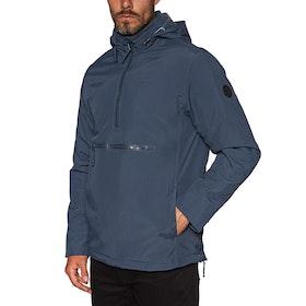 RVCA Accomplice Anorak Waterproof Jacket - Moody Blue
