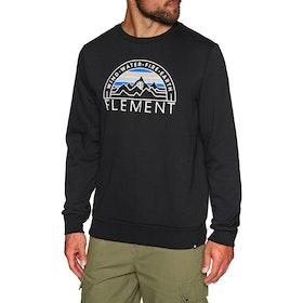 Sudadera Element Odyssey Crew - Flint Black