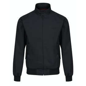 Fred Perry Re Issues Made In England Harrington Jacke - Black