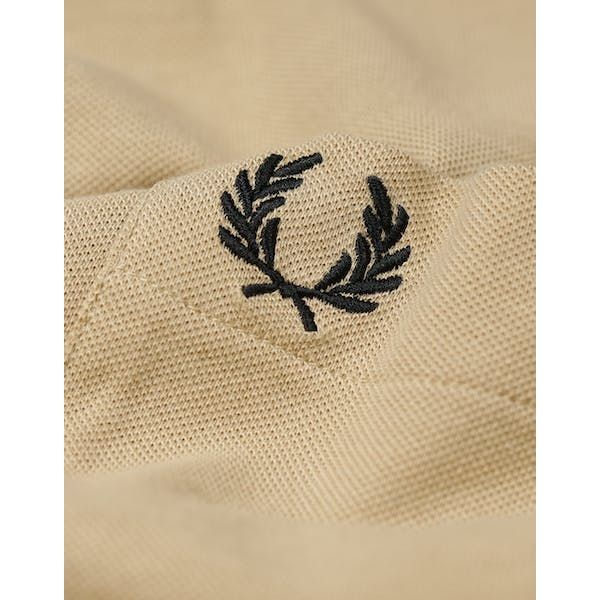 Fred Perry Re Issues Two Tone Pique , Kortärmad T-shirt