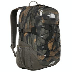 Sac à Dos North Face Borealis Classic - Bright Olive Green Waxed Camo Print