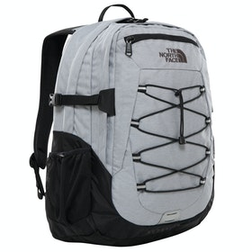 North Face Borealis Classic Backpack - Mid Grey Heather Tnf Black