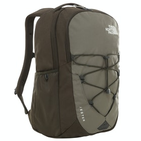 North Face Jester Backpack - New Taupe Combo High Rise Grey