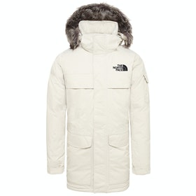 North Face McMurdo Parka Down Jacket - Vintage White