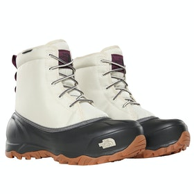 North Face Tsumoru Ladies Boots - Bone White Tnf Black