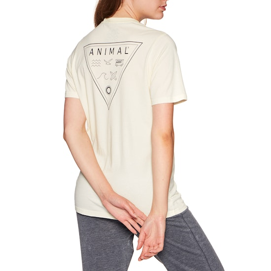 T-Shirt de Manga Curta Senhora Animal Time Flies Deluxe