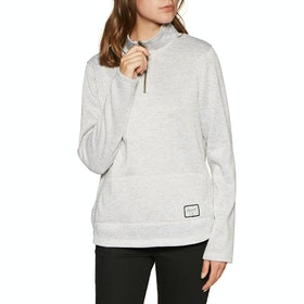 Polaire Femme Animal Trecker Funnel Neck - Ashes Or Roses Grey Marl