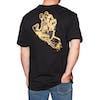 Santa Cruz Crash Hand Short Sleeve T-Shirt - Black