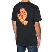 Santa Cruz Flame Hand Short Sleeve T-Shirt