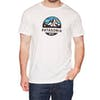 Camiseta de manga corta Patagonia Fitz Roy Scope Organic - White