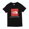 T-Shirt à Manche Courte North Face Box - TNF Black Fiery Red
