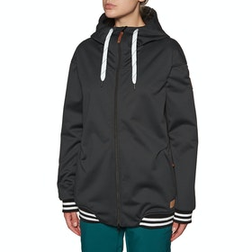 Planks Ivy Soft Shell Snow Jacket - Black