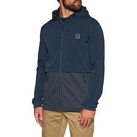 Rip Curl Split Anti-series Fleece Jacket - True Indigo