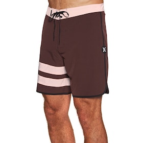 Hurley Phantom Block Party Solid 18in Boardshorts - Mahogany