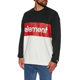Sweat Element Primo Division Crew - Flint Black