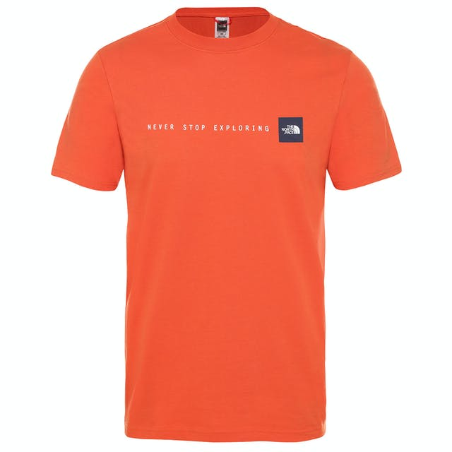 North Face Never Stop Exploring Mens T Shirt