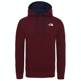 North Face Seasonal Drew Peak Pullover Hoody - Deep Garnet Red