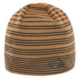 North Face Bones Recyced Beanie - Cedar Brown Asphalt Grey