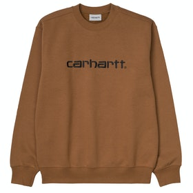 Carhartt Sweat , Genser - Hamilton Brown Black