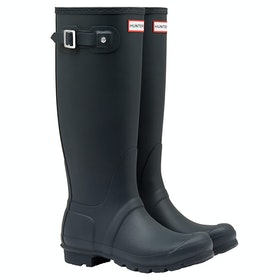 Hunter Original Tall Ladies Wellington Boots - Navy