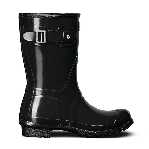 Hunter Original Short Gloss Ladies Wellington Boots