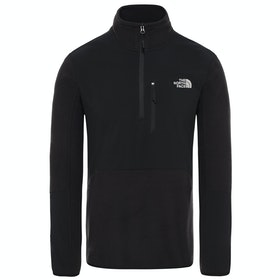 North Face Glacier Pro 1/4 Fleece - Tnf Black Tnf Black