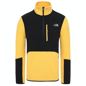 North Face Glacier Pro 1/4 Fleece - Tnf Yellow Tnf Black