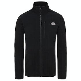 North Face Glacier Pro Full Zip Fleece - Black Black
