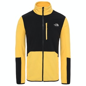 North Face Glacier Pro Full Zip , Fleece - Tnf Yellow Tnf Black