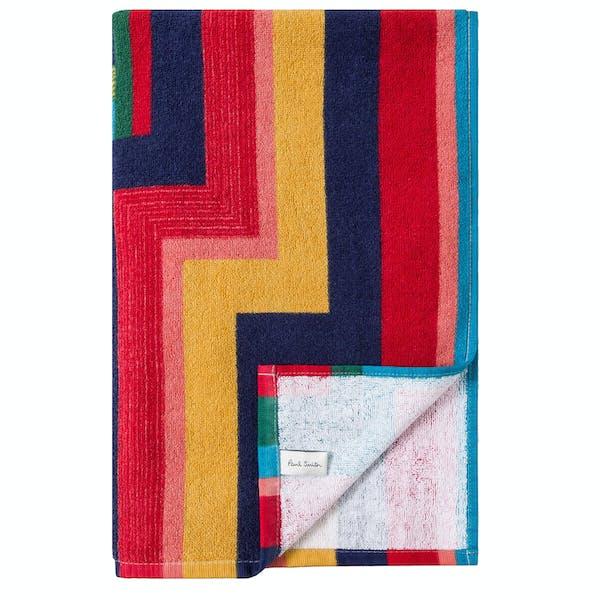 Paul Smith Geometric Stripe Beach Towel